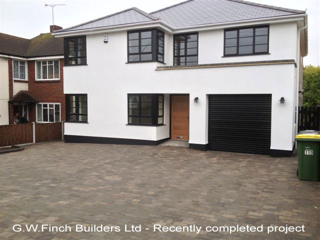 G W Finch Builders Ltd - Recently completed project
